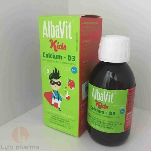 ALBAVIT KIDS CALCIUM D3