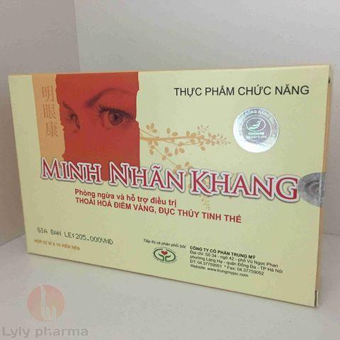 MINH NHÃN KHANG