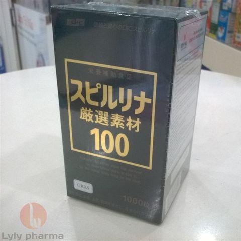 TẢO XOẮN GENSEN SOZAI 100 SPIRULINA