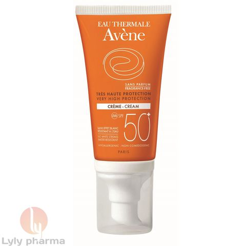 AVENE VERY HIGH PROTECTION CREAM 50+ FRAGNANCE FREE