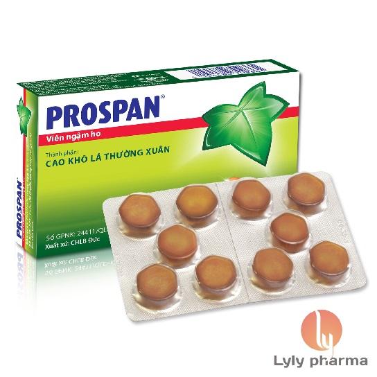 Viên ngậm Prospan